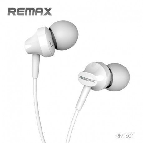 REMAX RM-501 Headset - Biely