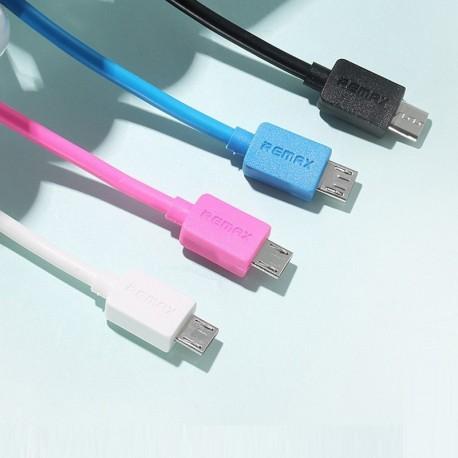 REMAX MicroUSB Light 1m Dátový kábel - čierny