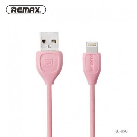 Remax RC-050i Lesu Lightning Dátový kábel - Ružové