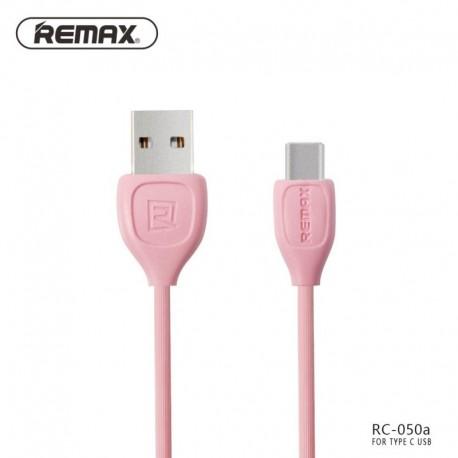 Remax RC-050a Lesu TYPE-C dátový kábel - Ružové