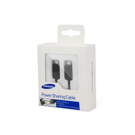 Samsung EP-SG900UBEGWW Gyári Power Sharing Kábel - čierne
