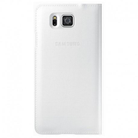 Samsung G850/Alpha 2016 Flip Cover Knižkové puzdro - Biely