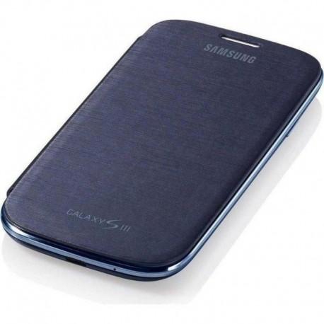Samsung I9300/S3/S3 Neo S View Cover Knižkové puzdro - Modré
