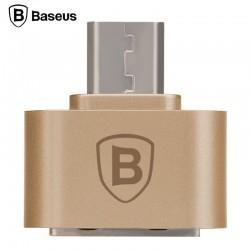 Baseus OTG/Micro USB redukcia - Zlaté
