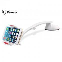 Baseus Extend Mount so štipcom Stojan do auta - Biely