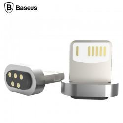 Baseus Lightning Magnetic Adapter - Strieborný