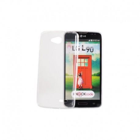 Samsung G530H/Grand Prime Gumené puzdro Ultra Slim - Transparentné