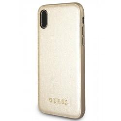 Púzdro GUESS GUHCI61IGLGO leather gold iphone  X/Xs