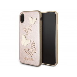 Púzdro GUESS GUHCPXPBURG leather iphone X/Xs rose gold