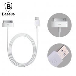 Baseus iPhone 4 1M Dátový kábel - Biele