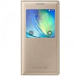 Samsung A5 S View Cover Knižkové puzdro - Zlaté