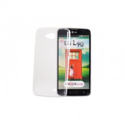 LG L Spirit Gumené puzdro Ultra Slim - Transparentné