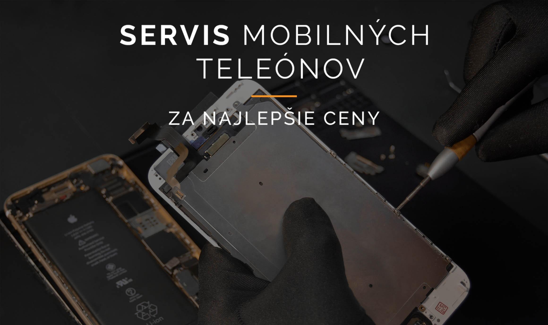 Servis mobilnych telefonov